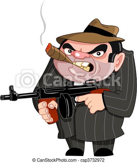 Gangster - csp3732972