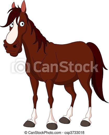 Horse - csp3733018