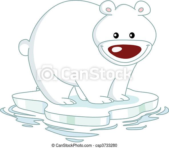 Polar bear - csp3733280