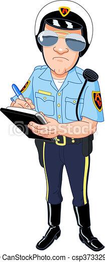 Policeman - csp3733298