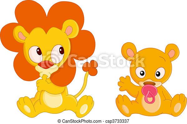 Baby animals - csp3733337