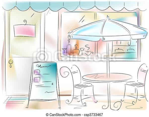 Stock De Ilustraciones De Restaurante Ilustraci N