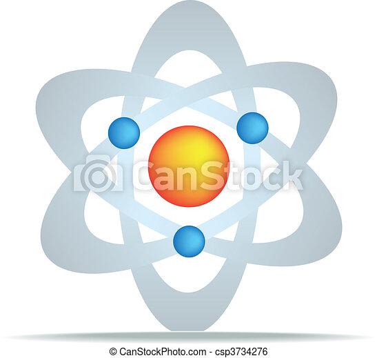 science symbol - csp3734276