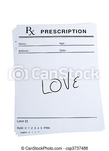 Prescription for Love - csp3737488