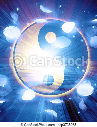 Yin Yang sign - csp3738068