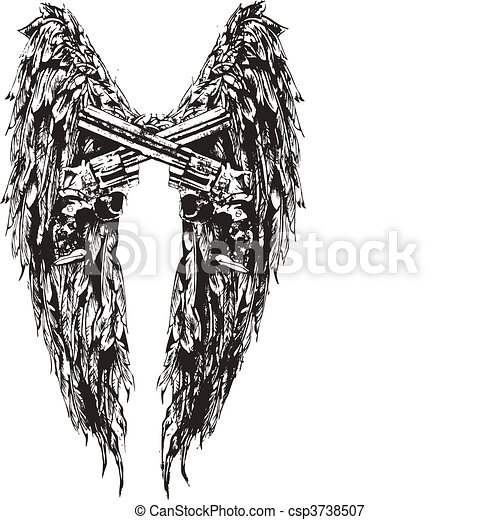 wing and gun design - csp3738507