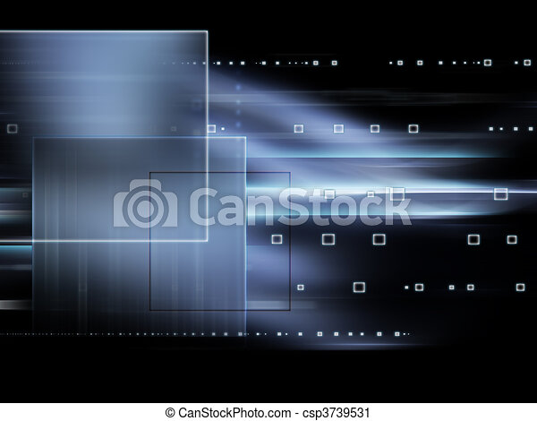 Futuristic technology abstract background - csp3739531