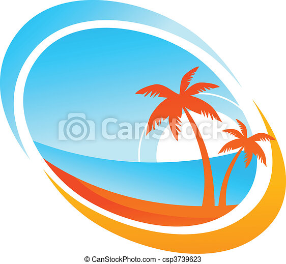 Tropical background - csp3739623