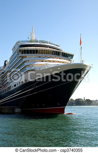 Luxury Cruise Liner - csp3740355