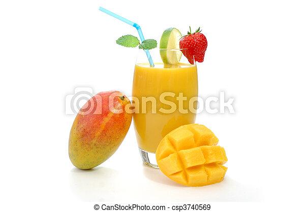 Mango juice - csp3740569