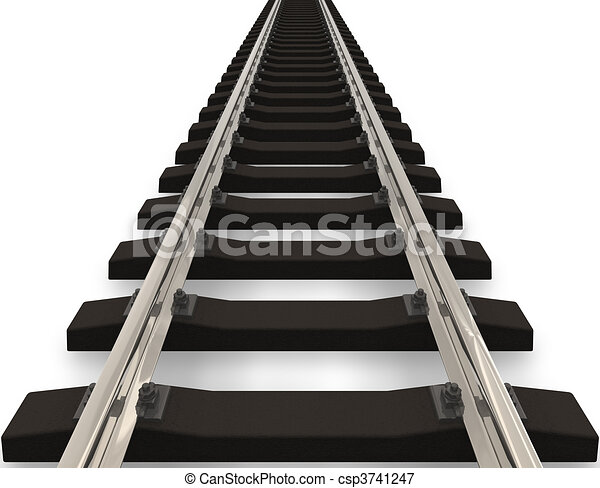 Railroad concept - csp3741247