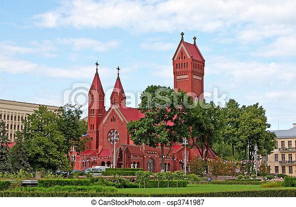 Catholic chapel St Simon and St Elena. - csp3741987