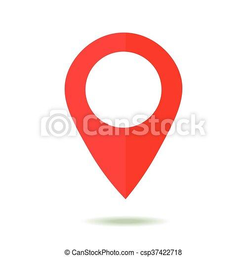 Vektor clip art von landkarte stil wohnung symbol for Meine wohnung click design download