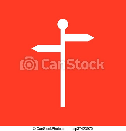 Direction road sign - csp37423970