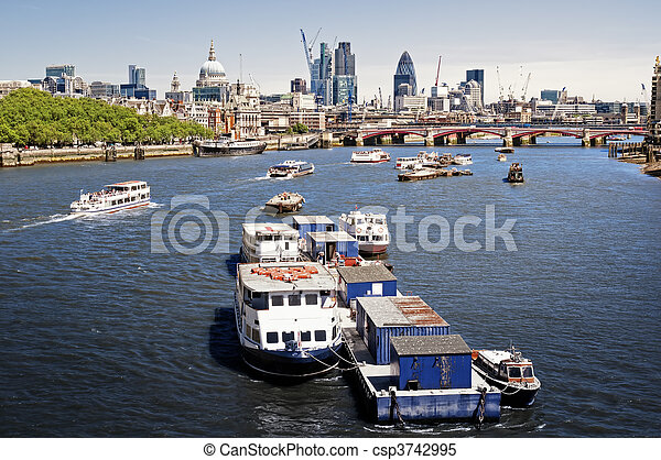 City of London. - csp3742995