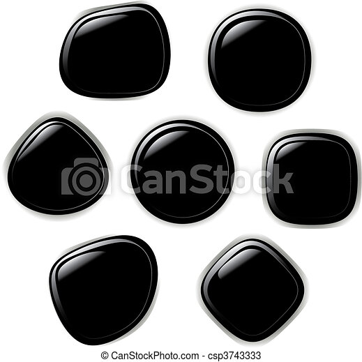 Vector illustration set of button - csp3743333