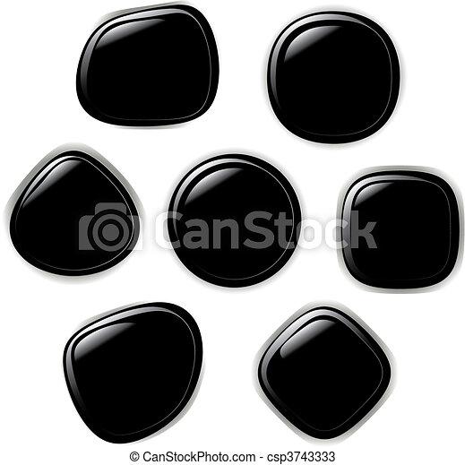 Vector illustration set of button - csp3743333