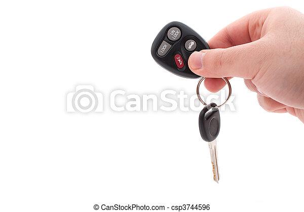 Car Keys and Remote - csp3744596