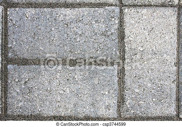Paver Bricks - csp3744599