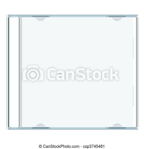 blank cd case - csp3745481