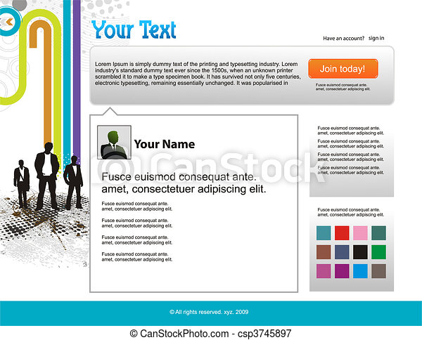 twitter themes  - csp3745897