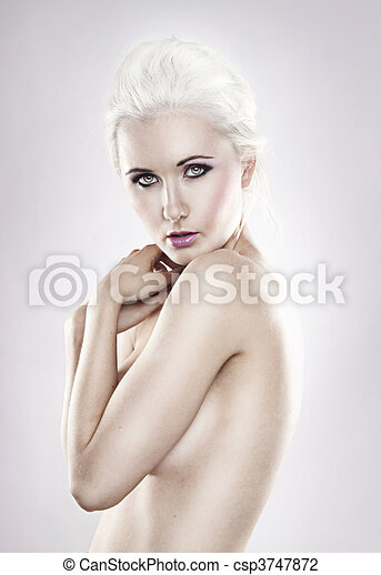 art nude woman - csp3747872