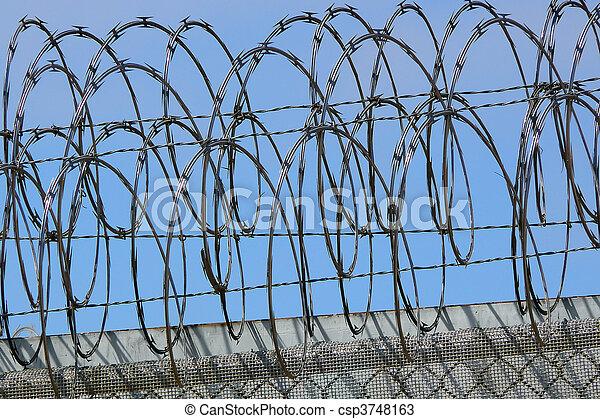Razor Wire - csp3748163