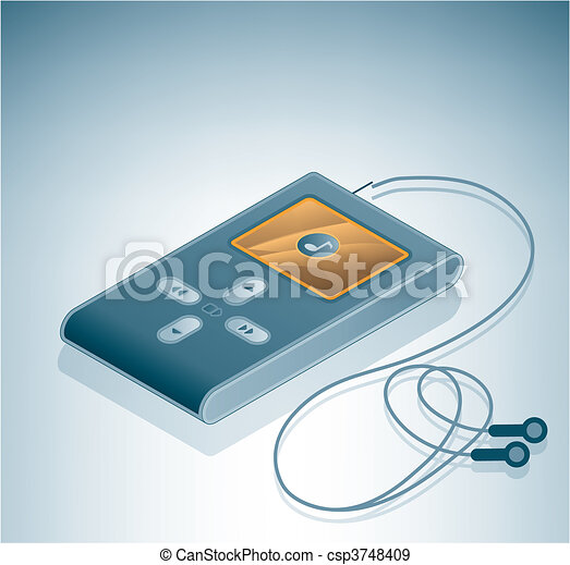 MP3 Multimedia Player - csp3748409