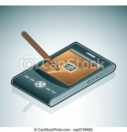 Personal Digital Assistant - csp3748462