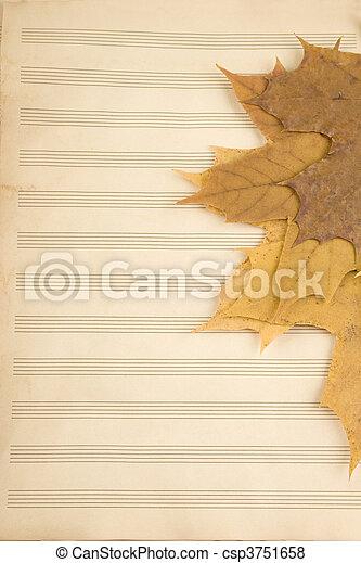 Academic year at music school - csp3751658