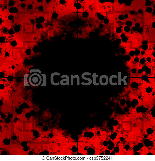 Red Crosshairs Clip Art