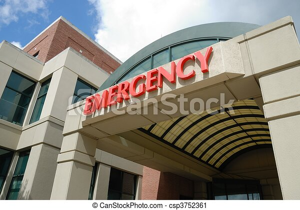 Emergency Room Sign - csp3752361