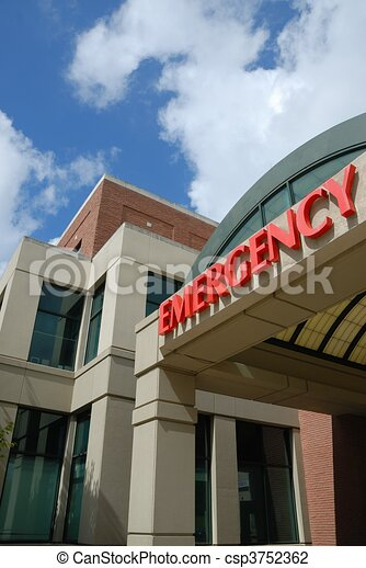 Emergency Room Sign - csp3752362