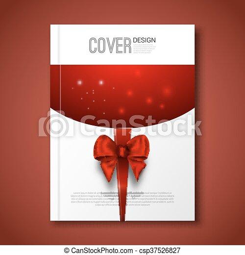 vektor illustration von plan, fröhlich, mockup, karte, weihnachten, Einladungen