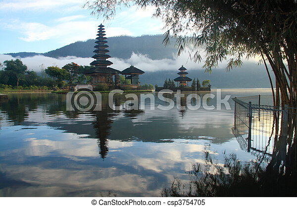 Hindu Temple at Bali - csp3754705