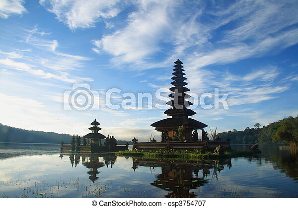 Hindu Temple at Bali - csp3754707
