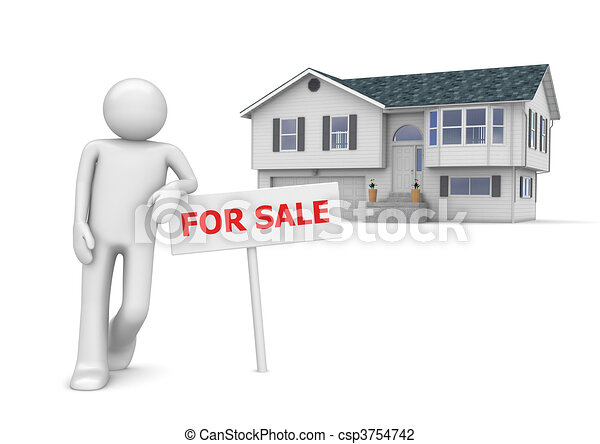 Workers collection - Real estate agent - csp3754742