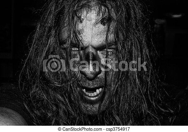 Scary Evil Zombie - csp3754917