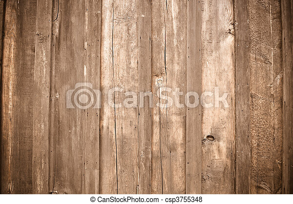 Rustic Light Wood Background - csp3755348