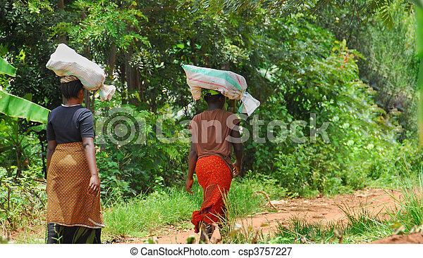 African women  - csp3757227