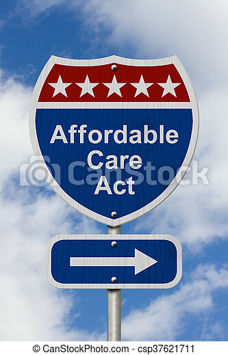 Stock Photography of Way to get the Affordable Care Act ...