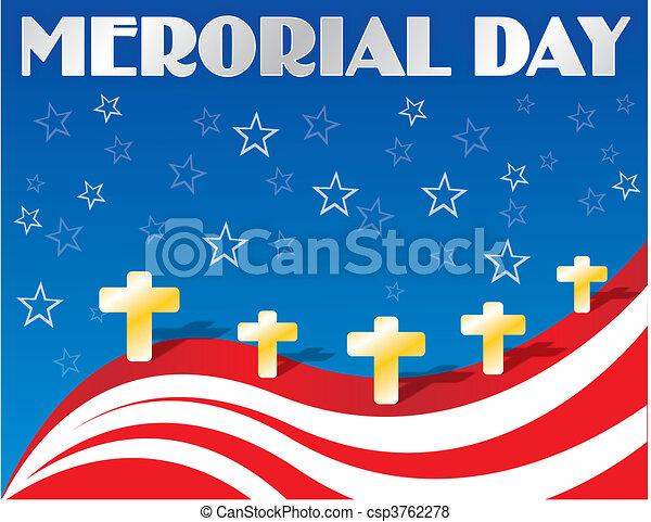 Memorial Day - csp3762278