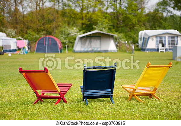 Campground - csp3763915