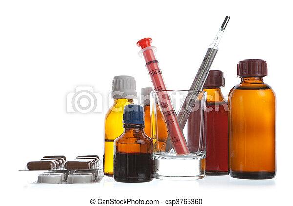 Medical  background - csp3765360