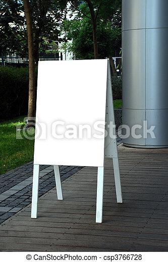 空白, 簽署 - csp3766728