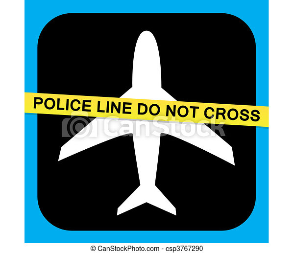 Airline Security Vector - csp3767290