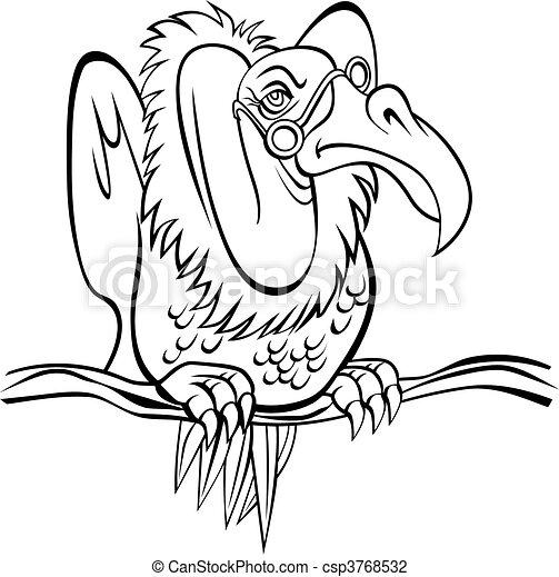 clip art buzzard