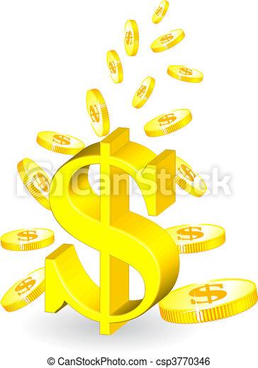 golden coin  - csp3770346