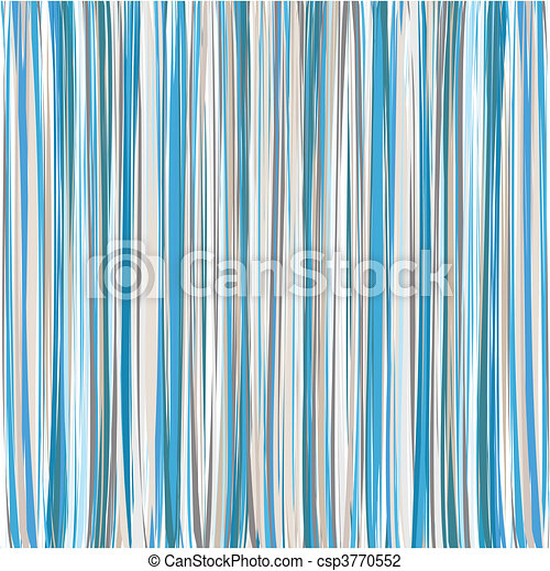 Blue Vertical Striped Pattern Background - csp3770552