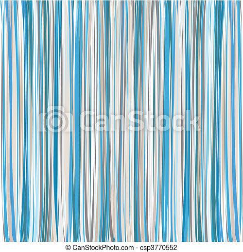 Blue Vertical Striped Pattern Background - csp3770552